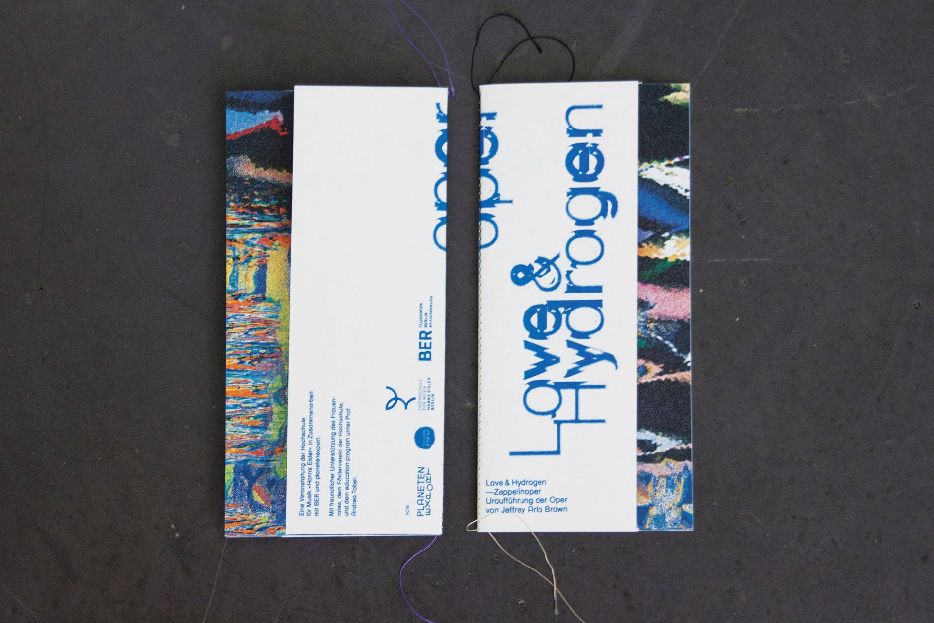 Design & Creative direction Love & Hydrogen — Zeppelinoper