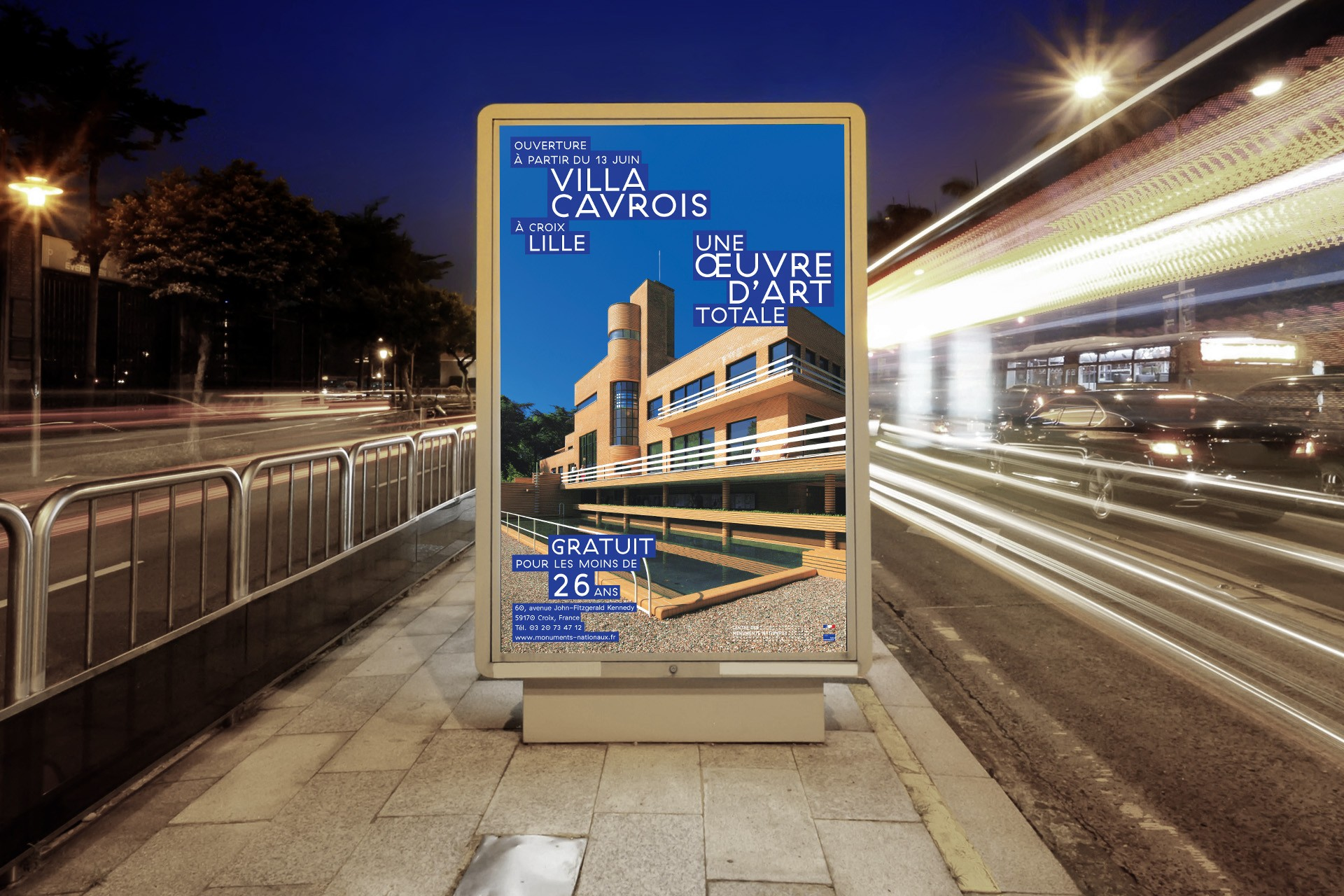 Design & Creative direction Villa Cavrois