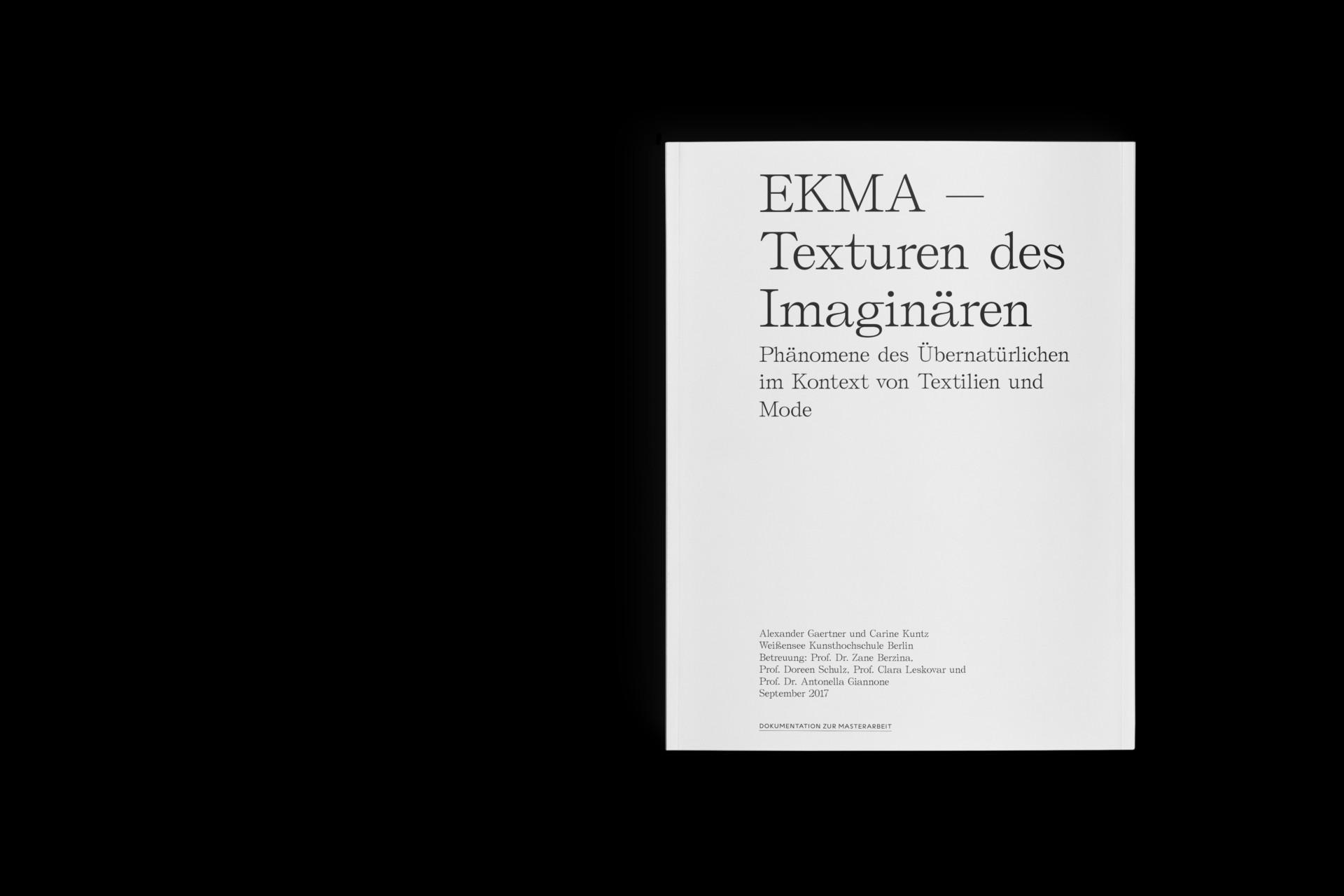 Design & Creative direction Ekma