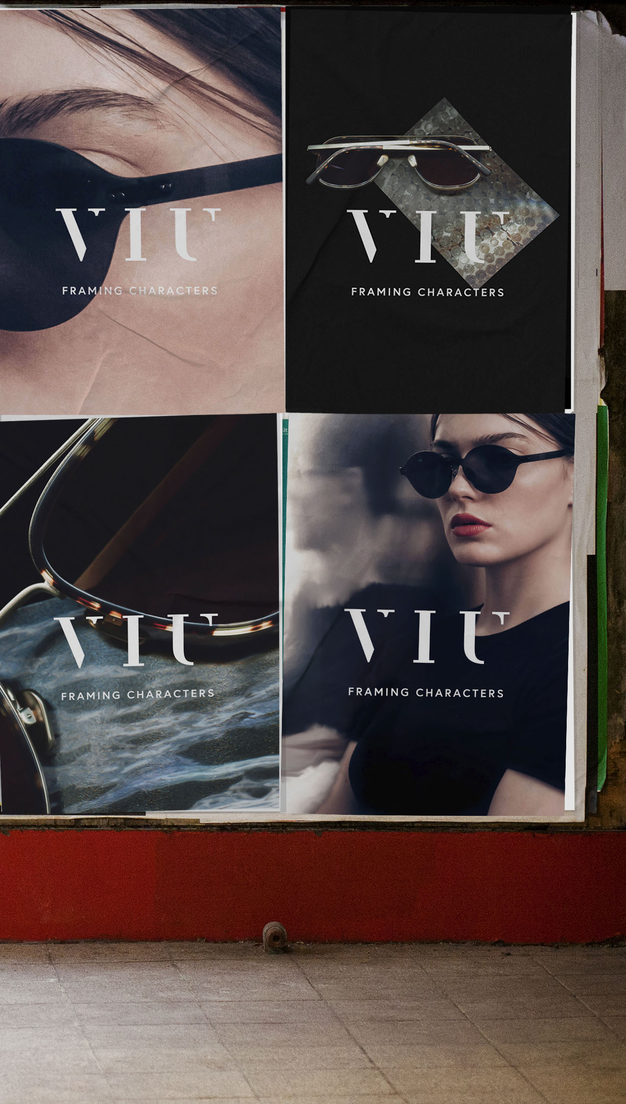 Design & Creative direction VIU Eyewear — Winter is calling