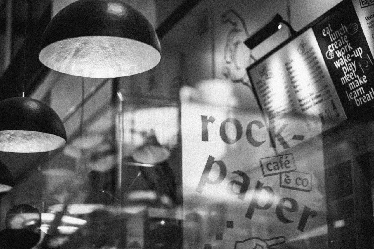 Design & Creative direction rock-paper… café & co
