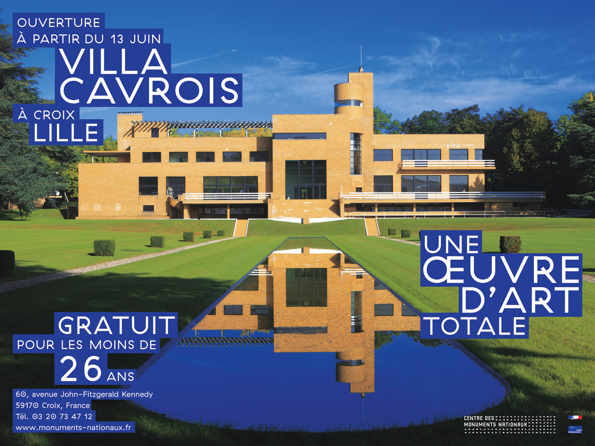 Design & Creative direction Villa Cavrois